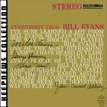Bill Evans (Piano) (1929-1980): Everybody Digs Bill Evans (Keepnews Collection), CD
