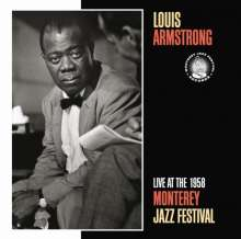 Louis Armstrong (1901-1971): Live At The 1958 Monterey Jazz Festival, CD