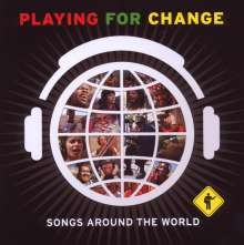 Playing For Change: Songs Around The World, 1 CD und 1 DVD