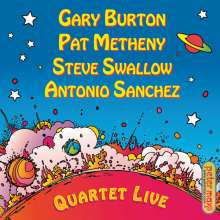 Pat Metheny & Gary Burton: Quartet Live!, CD