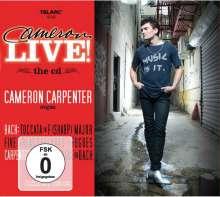 Cameron Carpenter - Cameron Live, 1 CD und 1 DVD