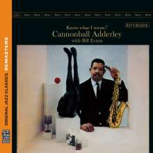 Julian 'Cannonball' Adderley & Bill Evans: Know What I Mean? (Remasters), CD