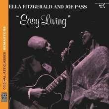 Ella Fitzgerald & Joe Pass: Easy Living (Remasters), CD