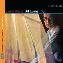 Bill Evans (Piano) (1929-1980): Explorations (Remasters), CD
