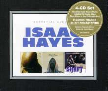 Isaac Hayes: Essential Albums:Hot Buttered Soul/Black Moses/Shaft(Ltd.Ed), 4 CDs