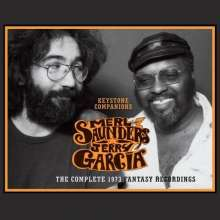 Jerry Garcia & Merl Saunders: Keystone Companions: The Complete 1973 Fantasy Recordings, 4 CDs