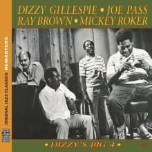 Dizzy Gillespie, Joe Pass, Ray Brown & Mickey Roker: Dizzys Big 4 (OJC Remasters), CD