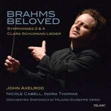 Johannes Brahms (1833-1897): Symphonien Nr.2 & 4, 2 CDs