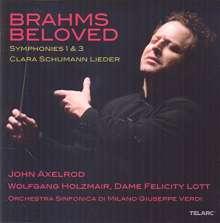 Johannes Brahms (1833-1897): Symphonien Nr.1 & 3, 2 CDs