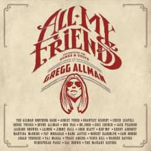 Gregg Allman: All My Friends: Celebrating The Songs And Voice: Live 2014 (2 CD + DVD) (Limited Edition), 2 CDs und 1 DVD