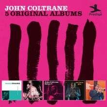 John Coltrane (1926-1967): 5 Original Albums, 5 CDs