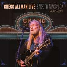 Gregg Allman: Gregg Allman Live: Back To Macon, GA, 14.1.2014