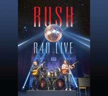 Rush: R40 Live, 3 CDs und 1 DVD