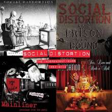Social Distortion: The Independent Years: 1983-2004 (Limited-Edition-Box-Set) (Colored Vinyl), 4 LPs