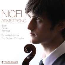 Nigel Armstrong spielt Violinkonzerte, CD