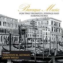 Barocke Musik für 2 Trompeten, Streicher & Cembalo, CD