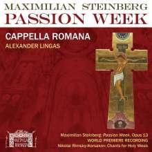 """Maximilian Steinberg (1883-1964): Chorwerke """"Passion Week (1923)"""", CD"""