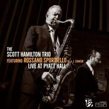 Scott Hamilton & Rossano Sportiello: Live At Pyatt Hall 2017, CD