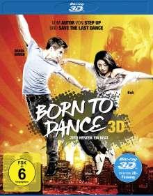 Born to Dance (3D Blu-ray), Blu-ray Disc