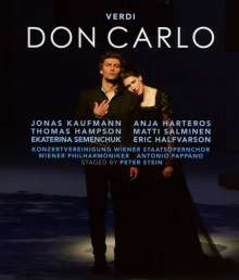 Giuseppe Verdi (1813-1901): Don Carlos, Blu-ray Disc
