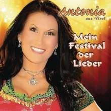 Antonia aus Tirol: Mein Festival der Lieder, CD