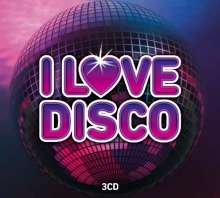 I Love Disco, 3 CDs