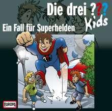Die Drei ??? Kids (Folge 45) - Ein Fall für Superhelden, CD