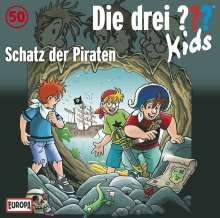Die drei ??? Kids 50: Schatz der Piraten (drei Fragezeichen), CD