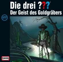 Die drei ??? (Folge 177) - Der Geist des Goldgräbers, CD