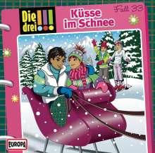Die drei !!! Fall 33 - Küsse im Schnee, CD