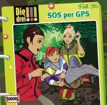 Die drei !!!: SMS per GPS, Audio-CD, CD