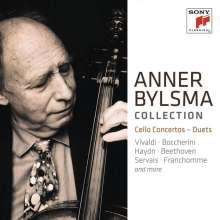 Anner Bylsma plays Concertos and Ensemble Works, 6 CDs