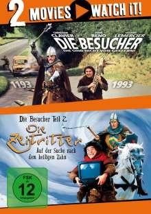Die Besucher / Die Zeitritter, 2 DVDs