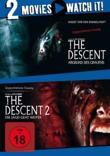 The Descent 1+2, 2 DVDs