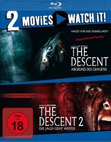 The Descent 1+2 (Blu-ray), 2 Blu-ray Discs