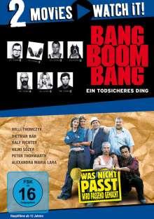 Bang Boom Bang - Ein todsicheres Ding / Was nicht passt, wird passend gemacht, 2 DVDs