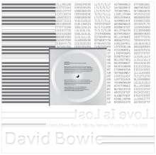 "David Bowie (1947-2016): Love Is Lost (White Vinyl), Single 12"""