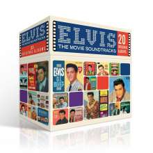 Elvis Presley (1935-1977): Filmmusik: The Perfect Elvis Presley Soundtrack Collection, 20 CDs