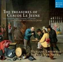 Claude Le Jeune (1528-1600): Die Schätze des Claude le Jeune (Motetten, Lieder, Madrigale), CD