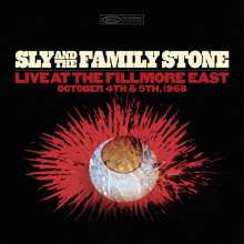 Sly & The Family Stone: Live At The Fillmore East, October 4th & 5th, 1968, 4 CDs