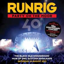 Runrig: Party On The Moor (The 40th Anniversary Concert), 3 CDs