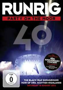 Runrig: Party On The Moor (The 40th Anniversary Concert), 2 DVDs