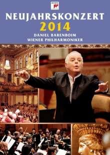 Neujahrskonzert 2014 der Wiener Philharmoniker (Deluxe-Ausgabe mit original Programmheft), 2 CDs