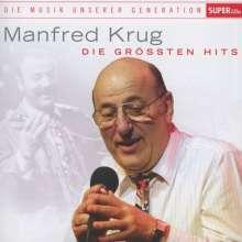 Manfred Krug: Die Musik unserer Generation: Die größten Hits, CD
