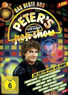 Best Of Peter's Pop Show, 3 DVDs