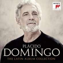 Vokalrecitals I (Lieder und Arien): Placido Domingo - Siempre en mi corazon (The Latin Album Collection), 8 CDs