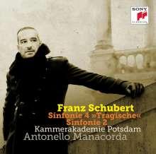 Franz Schubert (1797-1828): Symphonien Nr.2 & 4, CD