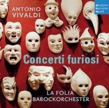 """Antonio Vivaldi (1678-1741): Concerti für Streicher RV 116,133,138,156 - """"Concerti furiosi"""", CD"""