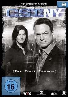 CSI New York Season 9 (finale Staffel), 9 DVDs