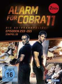 Alarm für Cobra 11 Staffel 33, 2 DVDs